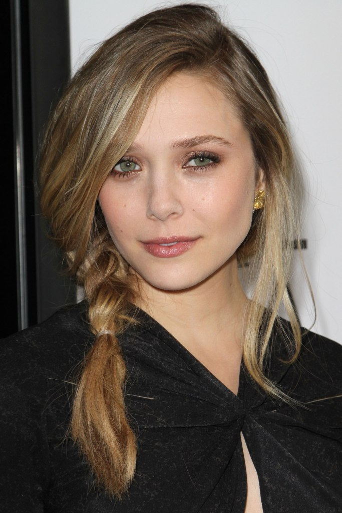 Elizabeth Olsen at W Magazine's Golden Globe Awards