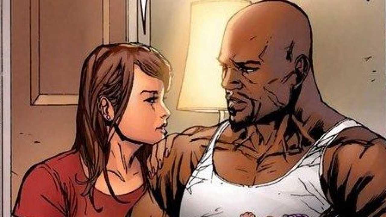 Jessica Jones & Luke Cage